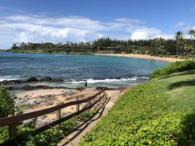 Photo for Aloha Studio on the Beach at Napili Shores Resort in Napili/Kapalua