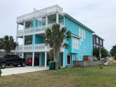 Photo for SeaRenity Now at Carolina Beach  - Beach Access, Beutiful Views, Spacious Decks!
