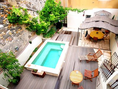 Photo for Charming stone house 3* small heated swimming pool near Pezenas 10% discount