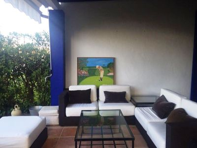 Photo for FANTASTIC HOUSE IN FIRST LINE OF MARINA SOTOGRANDE, A MINUTE OF THE BEACH.