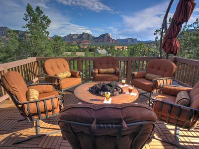 Photo for New Listing! Sedona Hilltop Retreat with Fabulous Red Rock Views.