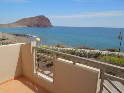 Photo for Luxurious Villa Maravillosa seafront + beach, 2 pools, terrace, TV, Wifi,seaview