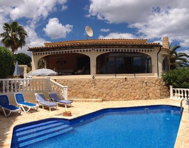 Photo for Luxury Three Bedroom Detached Villa - Private Pool & Barbeque Terrace