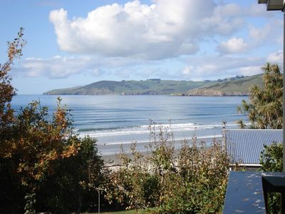 Photo for Sea & beach views with safe swimming 15 min north of Dunedin.