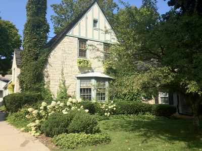 Photo for Spacious Whitefish Bay Tudor Walking Distance To Lake, Shops And Restaurants