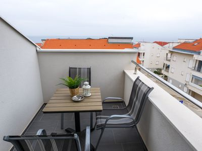 Photo for Duplex Studio with Terrace and Sea View