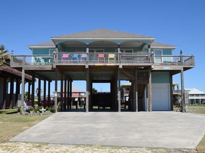 Photo for Beautiful 2nd row home - with dreamy beach views - An Okie's Dream