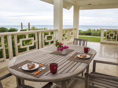 Photo for 2 BD/2 BA Beautiful Oceanfront Condo, direct access to Kitebeach, Cabarete