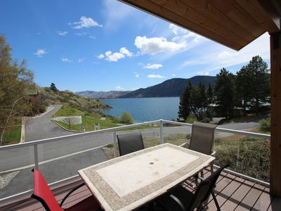 Photo for Lake access home w/ private community dock, near sandy beach and assigned buoy!