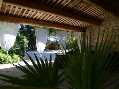 Photo for Provencal farmhouse renovated with taste, simplicity and comfort with its large pool