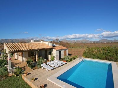 Photo for es Barcares Villa, Sleeps 4 with Pool, Air Con and WiFi