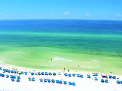 Photo for Breathtaking Unobstructed Gulf Front Views! Luxury  2nd floor condo A+ for kids!