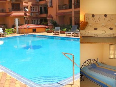 Photo for 42) Serviced Apartment Calangute/Baga Sleeps 4