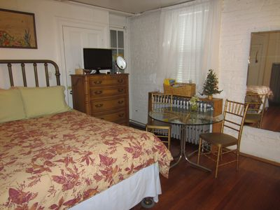 Photo for Clean Private Apartment , 1 block to New York Bus