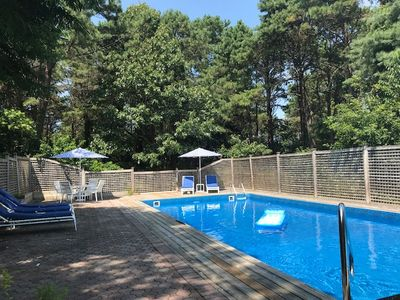 Photo for Southampton Home Perfectly Located near town beach w/ Heated Pool & Jacuzzi