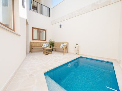 Photo for ES CAMPANAR - Villa with private pool in Santanyi.