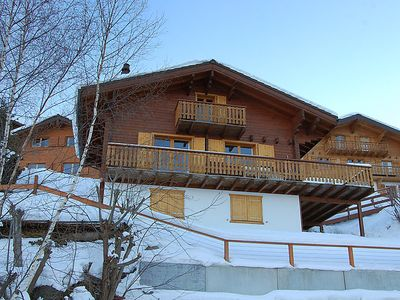 Photo for 4 bedroom Villa, sleeps 8 in Fey (Nendaz) with WiFi