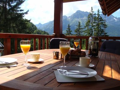 Photo for Chalet Clementine offers skiing luxury in Oz en Oisans part of Alpe d'Huez area.