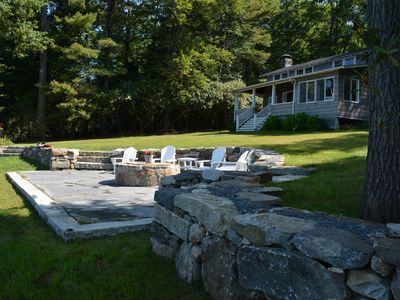 Photo for Experience Perch Rocks!  A Unique Private Waterfront Cottage on Bantam Lake