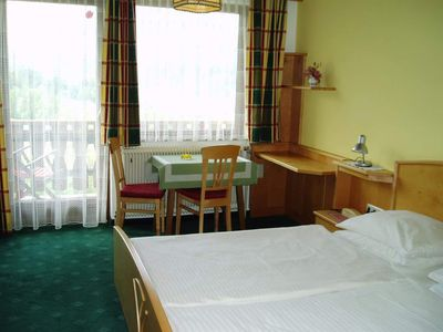 Photo for Double room with shower od. Bathroom, WC - excursion hotel Huttersberg