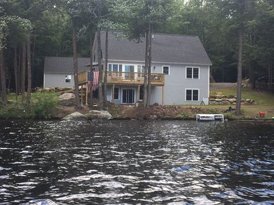 Photo for Amazing Brand New Lake Front/Ski Home with 200' on Crescent Lake in Acworth, NH