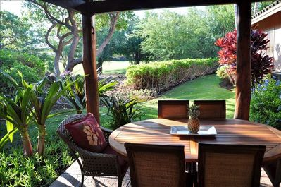Relax on the lanai with your morning coffee/latte and enjoy the sun