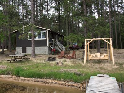 Lake front cottage - Brainerd Lakes Area - beautiful sandy beach, pristine view!