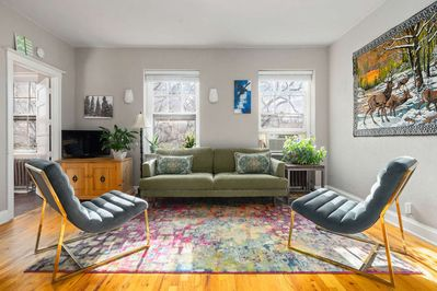 Sit back and relax after exploring all that the Capitol Hill neighborhood has to offer.