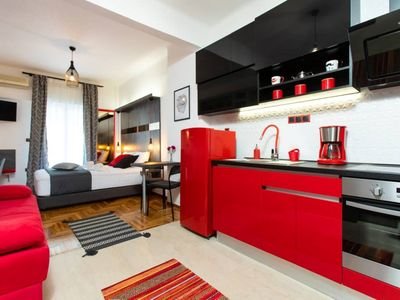 Photo for Downtown Luxury Boutique Suites : The Red Suite