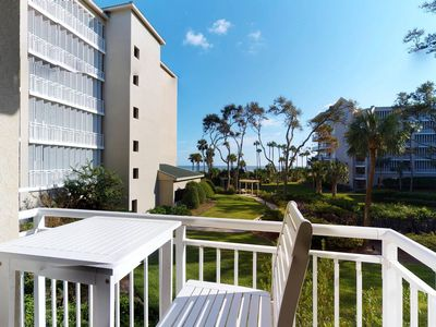 Photo for Colorful condo w/ shared pool, hot tub, & balcony - steps from the beach