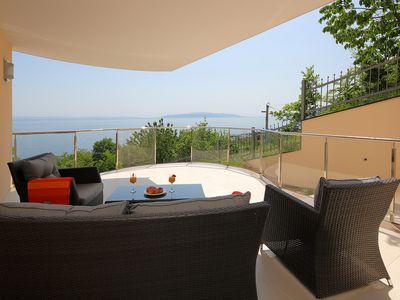 Photo for Family-friendly newly built two-room apartment - near the sea with great views