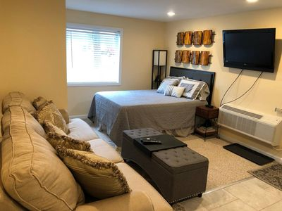 Photo for Just Like Home - Private Studio Apt in Bowie MD