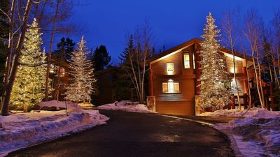 Photo for Perfect SKI IN/OUT home- Upper Deer Valley-10 person hot tub, 2 family rms, 5 br