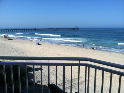 Awesome Beachfront Condo  Balcony overlooks the sand and ocean
