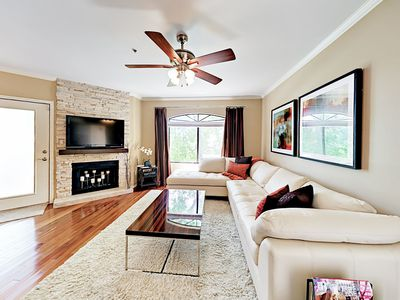 Living Room - Welcome to Scottsdale! Your 2nd-story condo is professionally managed by TurnKey Vacation Rentals.