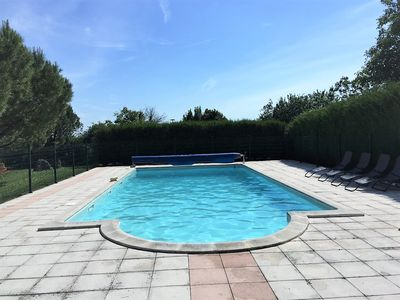 Photo for Family Charentaise with private pool