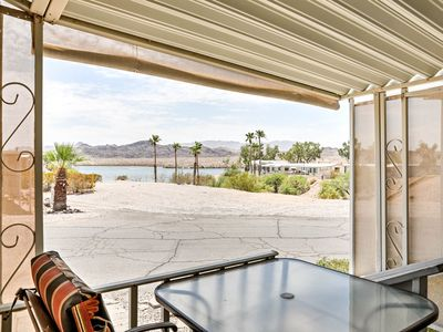 Photo for Quaint House w/Furnished Deck Steps to Lake Havasu