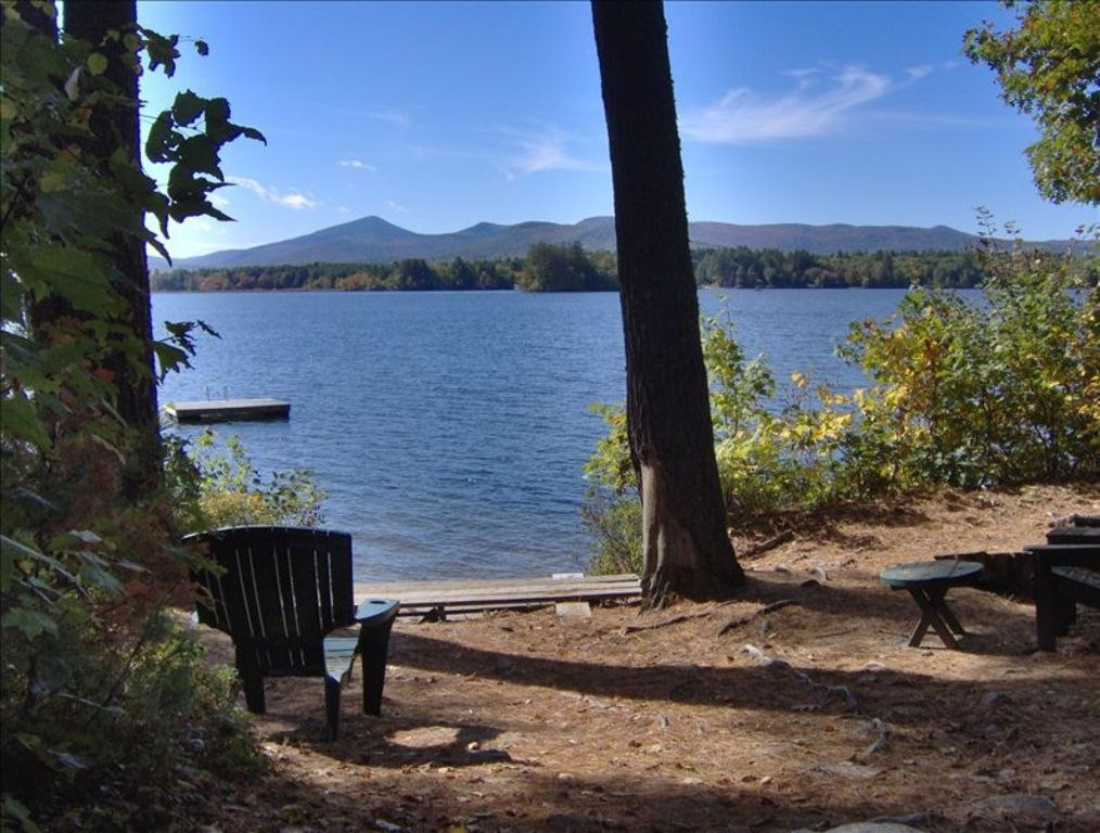 Lake side cabin with mountain views wilmington whiteface for Wilmington ny cabin rentals