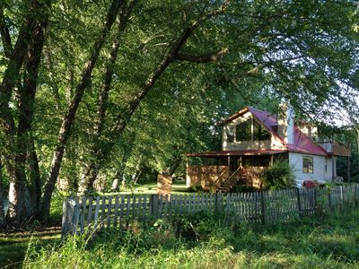 Photo for Riverfront Tranquil Chalet