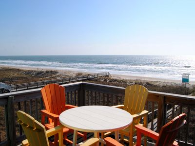 Photo for Newly Renovated and Tastefully Decorated 2 BR/2 BA Oceanfront Condo, sleeps 8.