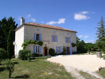 Photo for Beautiful country house with pool in tranquil and private grounds