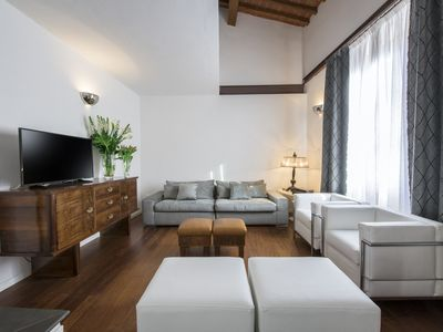 Photo for Elegant two bedroom next to the duomo