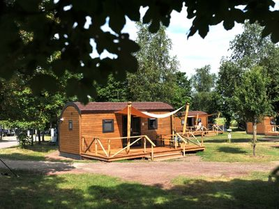 Photo for 4-person woodlodge in the holiday park Landal Warsberg - in the mountains/rolling countryside