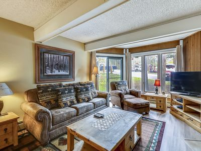 Photo for Nestled on the MTN Near Peak 8 lift w Hot Tub /Sauna Easy& Access to Downtown
