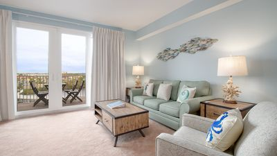 Photo for Lake View From Balcony & Ocean View From Front Door! Walk To Beach! Sleeps 6!