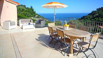 Large 70sq metre terrace with view