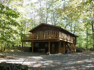 Photo for Luxurious & Private Locust Lake Vacation Home with GAME ROOM, HOT TUB, AND SAUNA