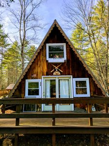 Photo for A-Frame Camp in the White Mountains!