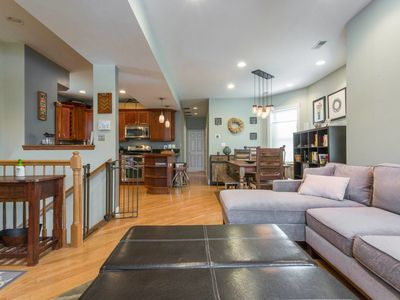 Photo for Spacious Split-Level - Great for Groups!