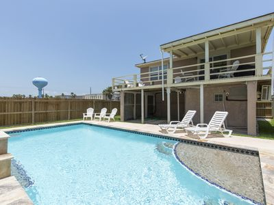 Photo for Private Home/Private Pool! 1/2 block from Beach!